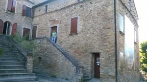 La casa de giovane Mussolini