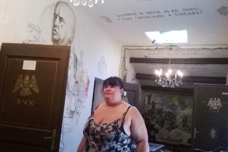 Il fantasma di Mussolini a Villa Carpena