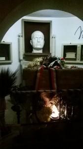 La tomba di Mussolini