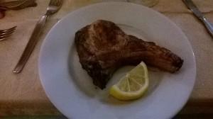 La braciola di maiale