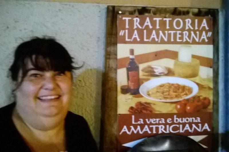 """Il ristorante """"La lanterna"""" di Amatrice"""