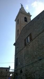 La torre della cattedrale di Ripatransone