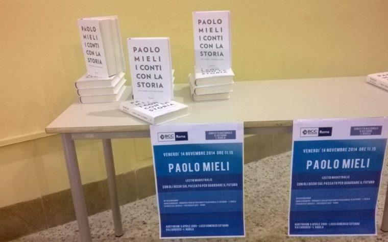 Incontro con Paolo Mieli