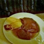 Manzo con polenta grigliata