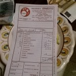 Il conto :(