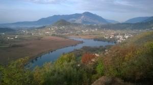 Il lago visto dal Belvedere