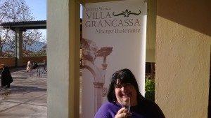 Il ristorante Villa Grancassa a San Donato Val di Comino