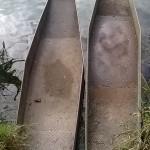 """Le """"naui"""", caratteristica imbarcazione del Lago di Posta Fibreno"""