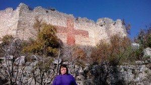 Il castello di Vicalvi (FR) e una fantasmina milf