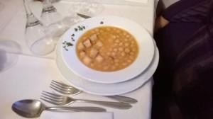 La zuppa di ceci