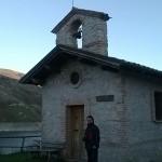 La chiesetta di San Rocco a Castel di Tora