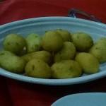 Frittelle con alghe