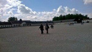 Il campo di concentramento di Dachau in Baviera