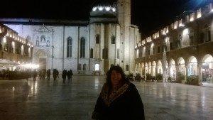 Ascoli Piceno by night