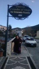 Il ristorante I giardini del Vetojo a L'Aquila
