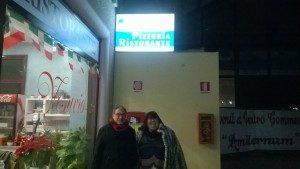 La pizzeria Vesuvio di L'Aquila