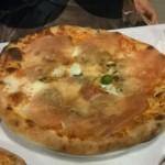 La pizza Vesuvio