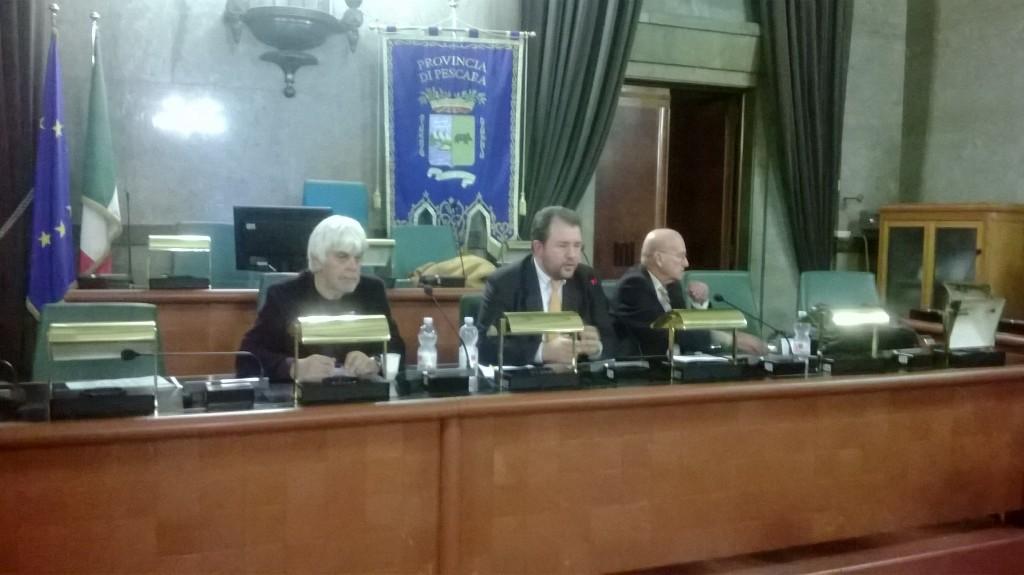Valerio Massimo Manfredi, Marco Presutti e Lorenzo Braccesi