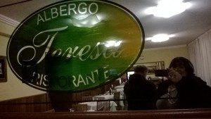 Il ristorante Teresa di Isola del Gran Sasso