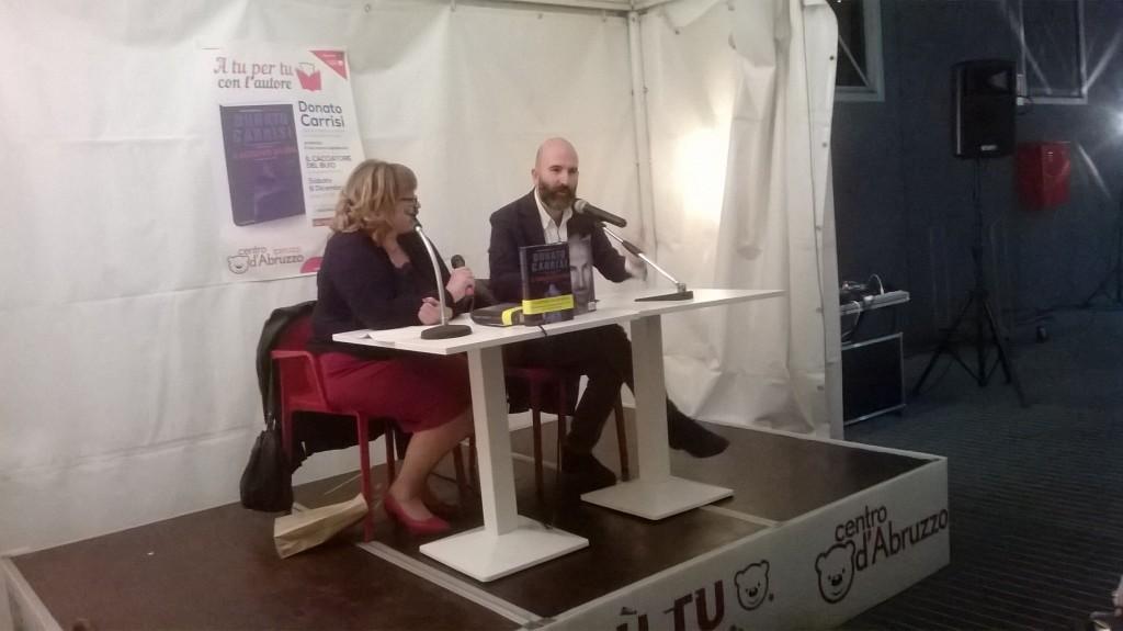 Donato Carrisi con Carla Porcaro