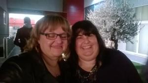 Con Carla Porcaro