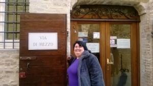 """IL ristorante """"La via di mezzo"""" di Montefalco (PG)"""