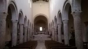 L'austero interno di San Silvestro
