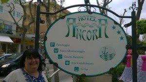 L'hotel Ancora di Rimini