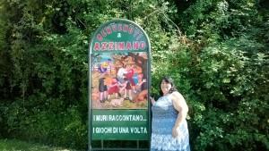 Azzinano (TE), il paese dei giochi di una volta
