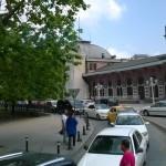 La stazione d'arrivo dell'Orient Express