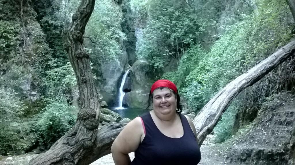 Il laghetto e la cascata di stiffe for Cascata per laghetto