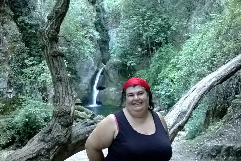 Il laghetto e la cascata di Stiffe (AQ)