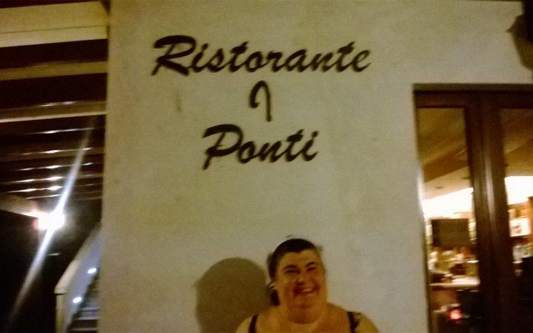Il ristorante I ponti a Villa Moscosi di Cingoli (MC)
