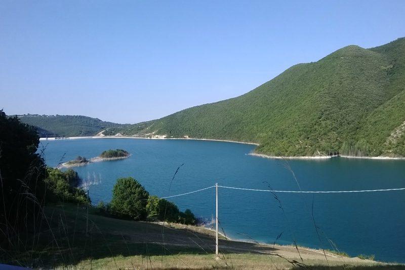 Il lago di Cingoli (MC)