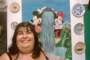 La pizzeria Mickey Mouse a L'Aquila