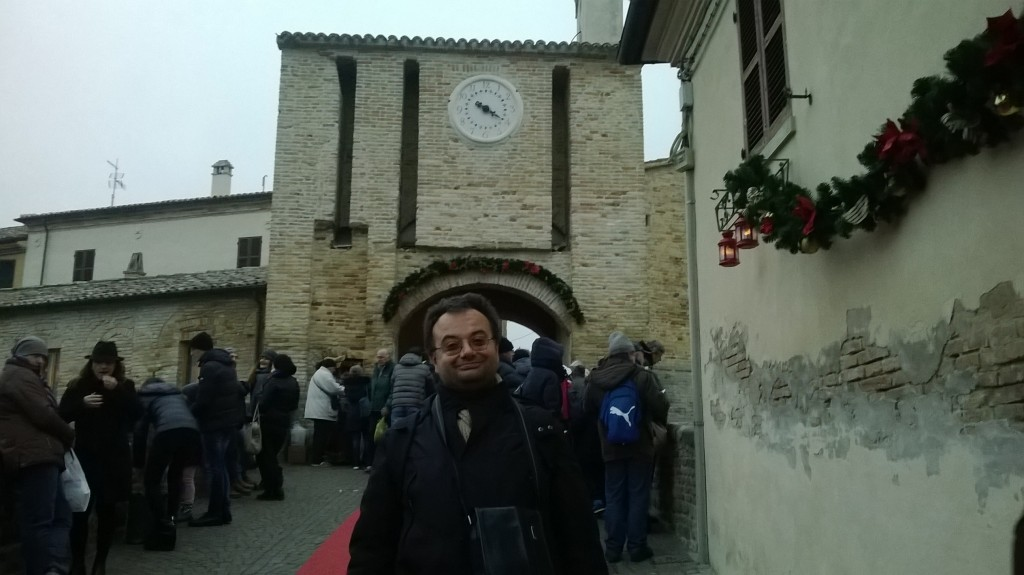 L'accesso al borgo