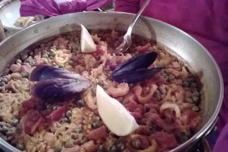 Il ristorante Andalucia di L'Aquila
