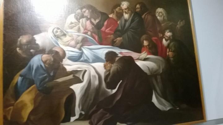 Il transito della Vergine di Giacinto Brandi