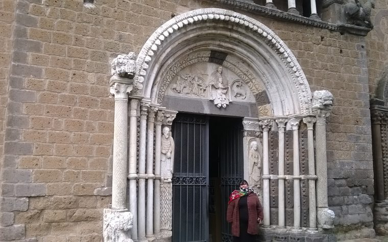 La basilica di Santa Maria Maggiore di Tuscania (VT)