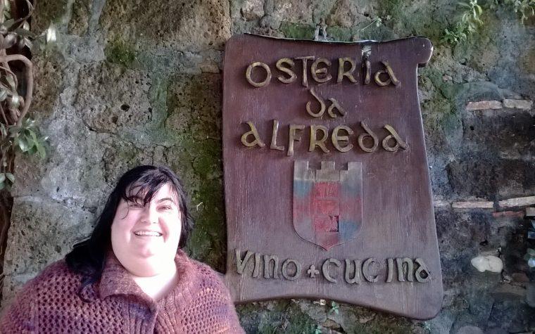 L'osteria da Alfreda a Tuscania (VT)