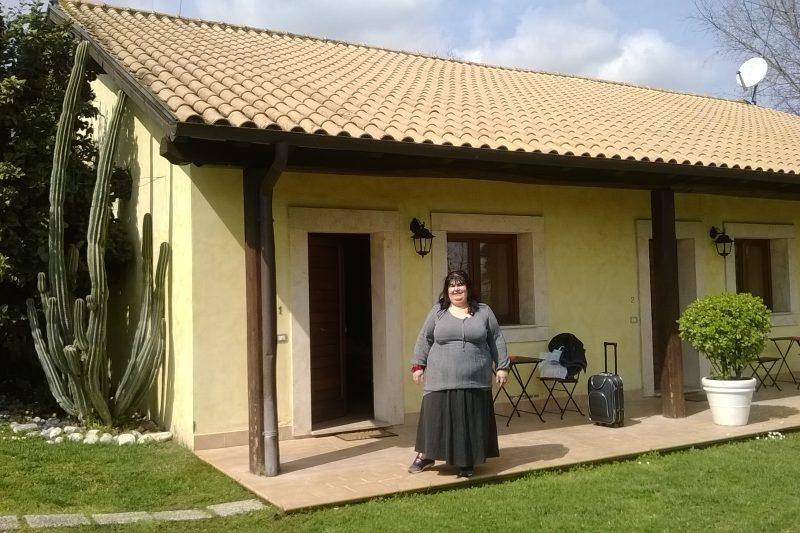 L'appartamento Tiberina 381 a Roma