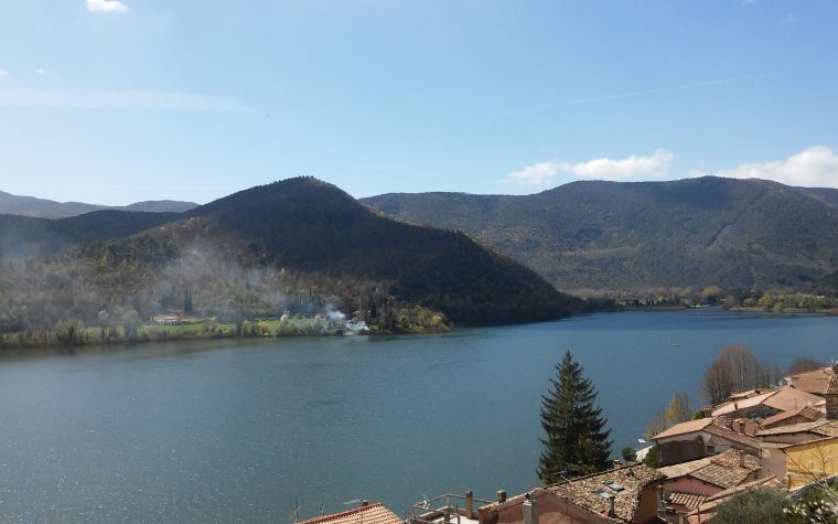 Il lago di Piediluco (TR)
