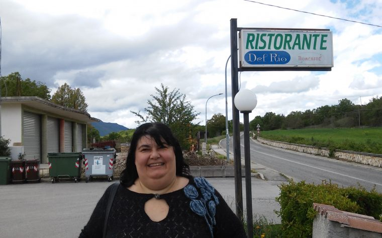 Il ristorante Il Rio di Fontecchio (AQ)