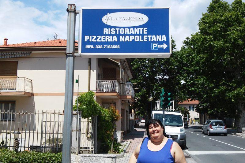 Il ristorante La Fazenda a Camporosso (IM)