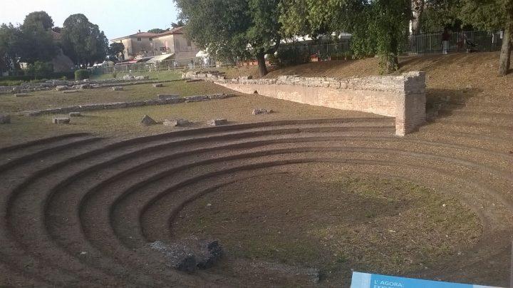 L'agorà di Paestum