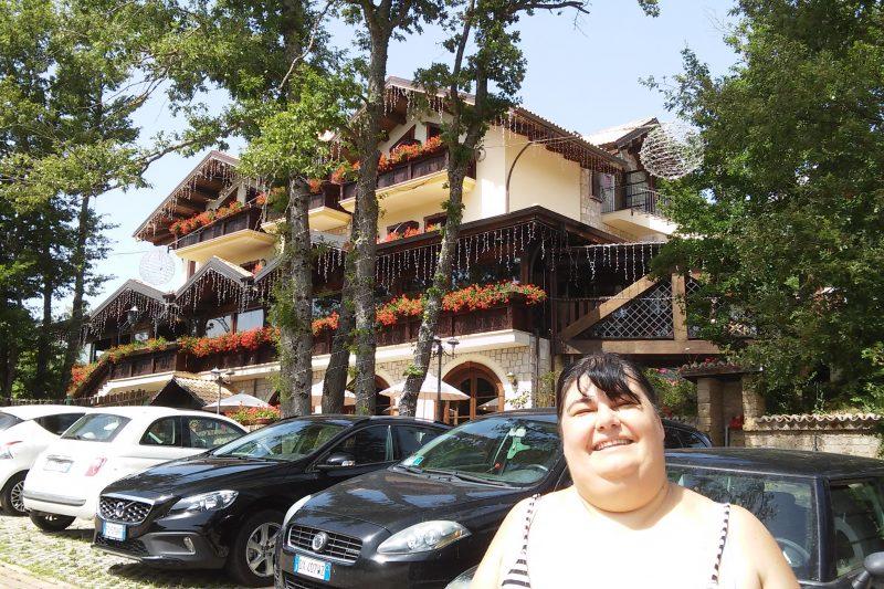 L'hotel Villa Danilo a Gamberale (CH)