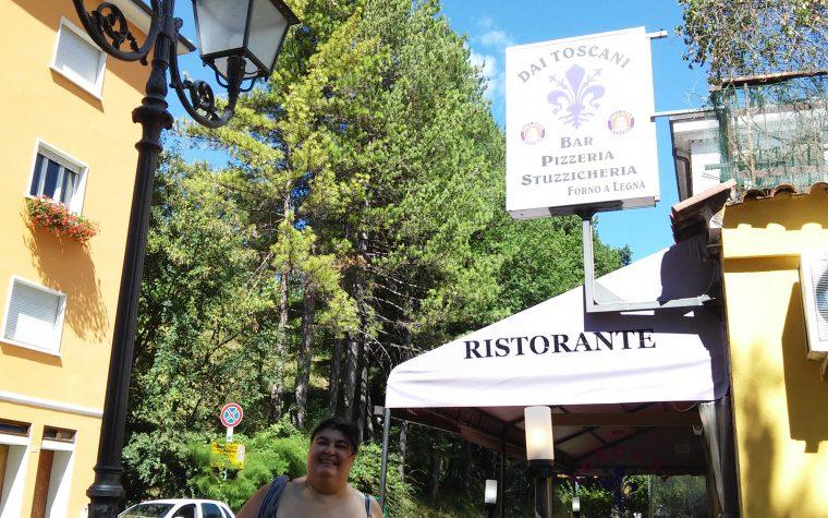Il ristorante Dai Toscani a Sestino (AR)