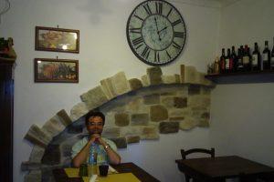 Il ristorante Il Grottino a Città di Castello (PG)