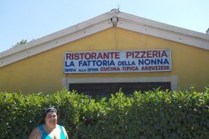 Il ristorante La fattoria della nonna di Roseto (TE)