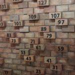 Il muro dei numeri primi a Mateureka